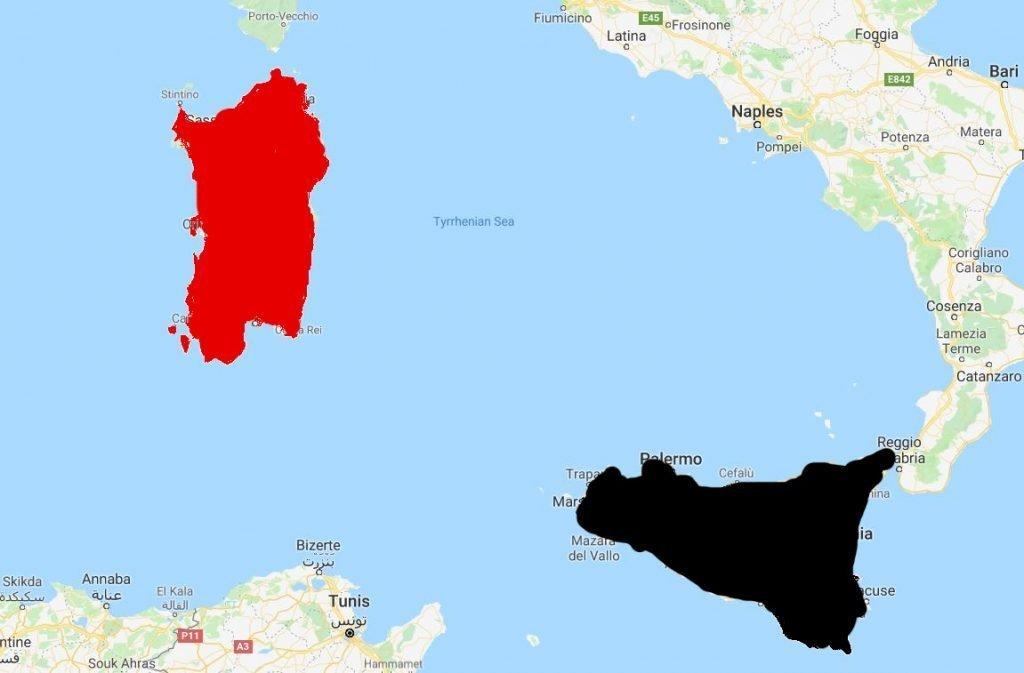Sardinia Sicilly 2016 Italy