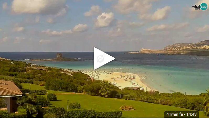 Webcam la pelosa stintino video sardegna 2018 - Webcam bagno paradiso ...