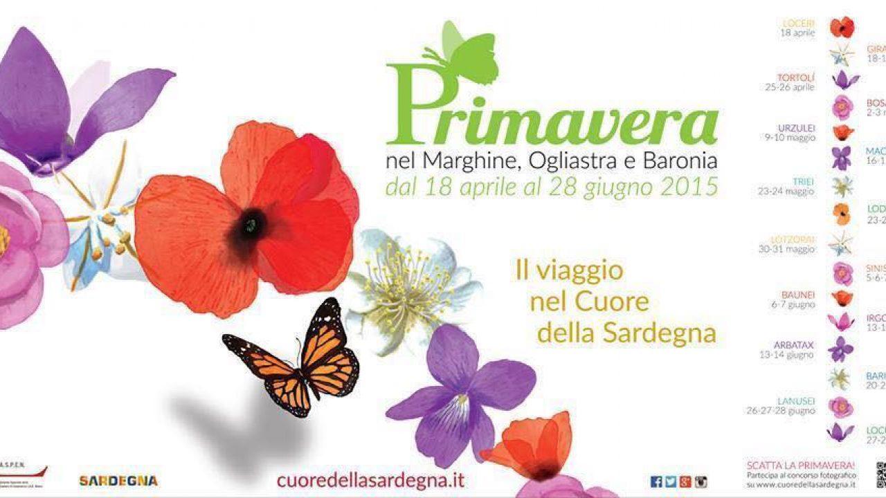 Primavera nel Marghine, Ogliastra e Baronia 2015   Programma
