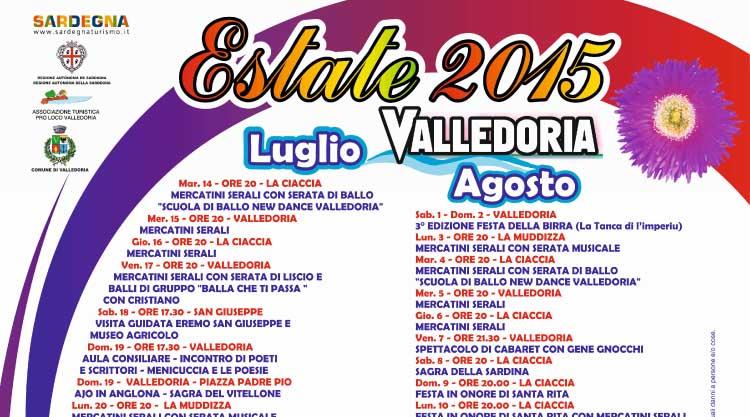 Calendario Raccolta Differenziata Valledoria 2021 Eventi Estate 2015 a Valledoria, scopri il programma!