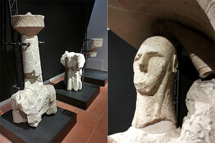 Giganti di Monte Prama: Ecco dove sono esposte le statue!