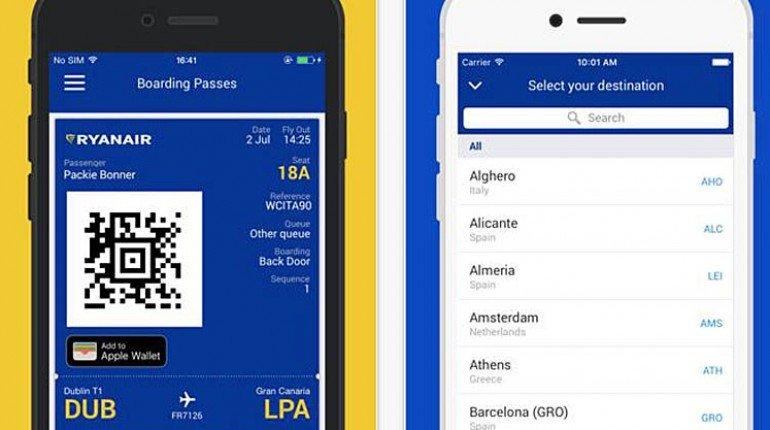 Ryanair App Ausloggen