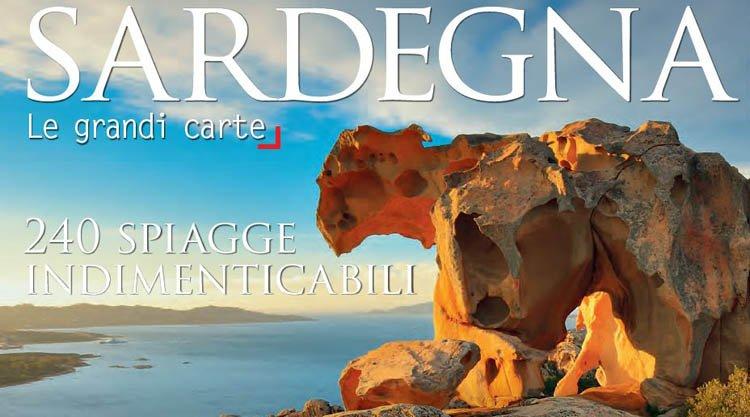 Cartina Sardegna Isola Rossa.Cartina Delle 240 Spiagge Piu Belle Della Sardegna