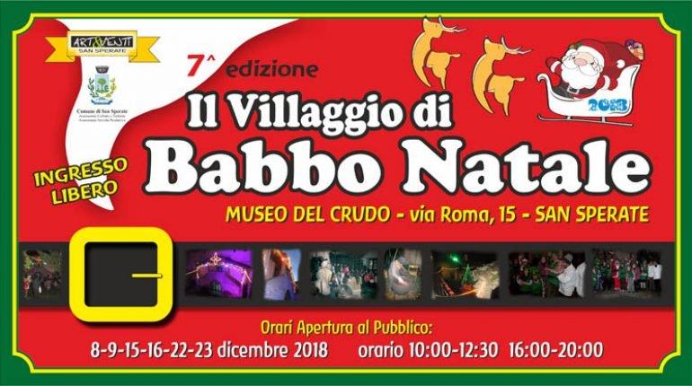 Babbo Natale 8 Dicembre Roma.Villaggio Di Babbo Natale 2018 A San Sperate Scopri Il Programma