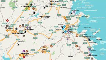 Cartina Sardegna Uras.Cartina Sardegna