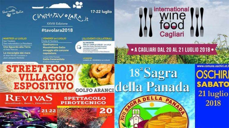 2e152cf148 Weekend 20, 21 e 22 luglio 2018: Eventi e Sagre in Sardegna!