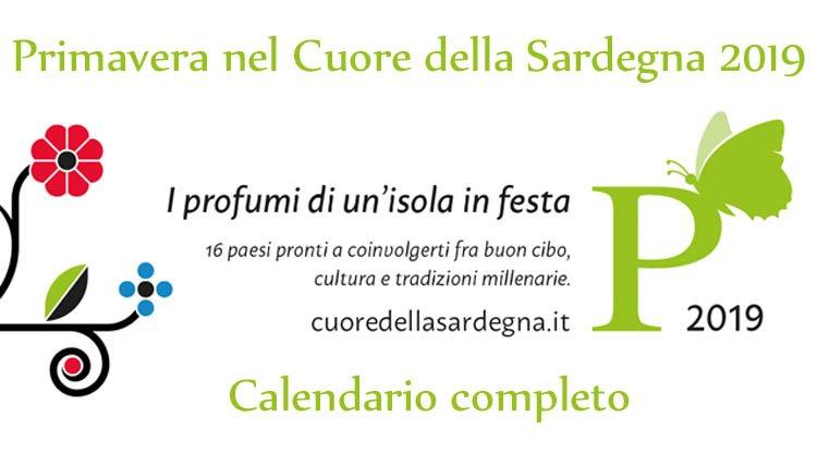 Calendario Prima Categoria Sardegna.Primavera Nel Marghine Ogliastra E Baronia 2019