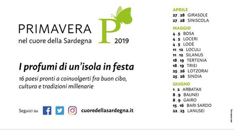 Primavera nel Cuore della Sardegna 2020