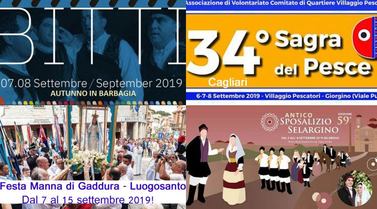 Pagina Di Calendario Settembre 2019.Weekend 6 7 8 Settembre 2019 Eventi E Sagre Imperdibili