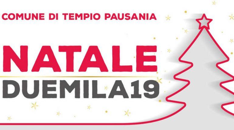 Natale Tempio Pausania 2019, calendario completo dal 6 dicembre!