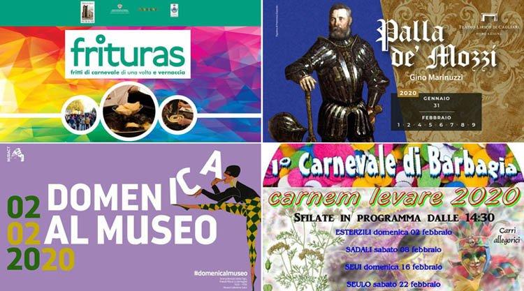 Weekend 1 E 2 Febbraio 2020 Eventi Sagre E Fuochi In Sardegna