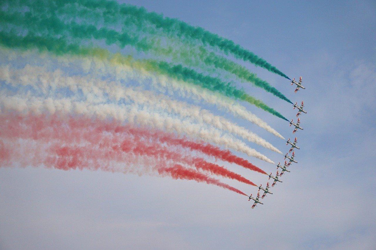 Frecce tricolori a Cagliari il 27 maggio 2020! - Sardegna in Blog 2020