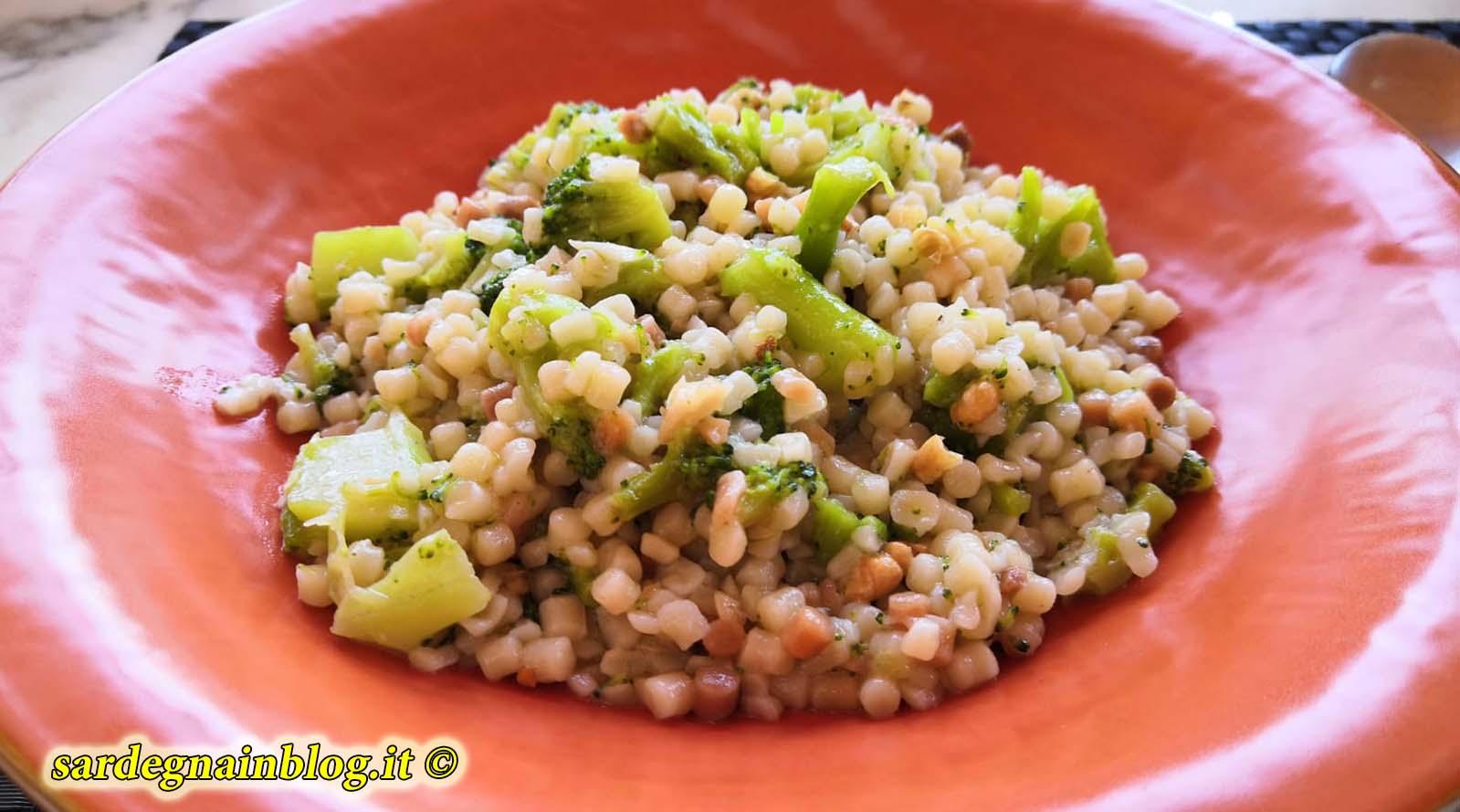 Fregola Sarda Ai Broccoli Ecco La Ricetta Sardegna In Blog 2020